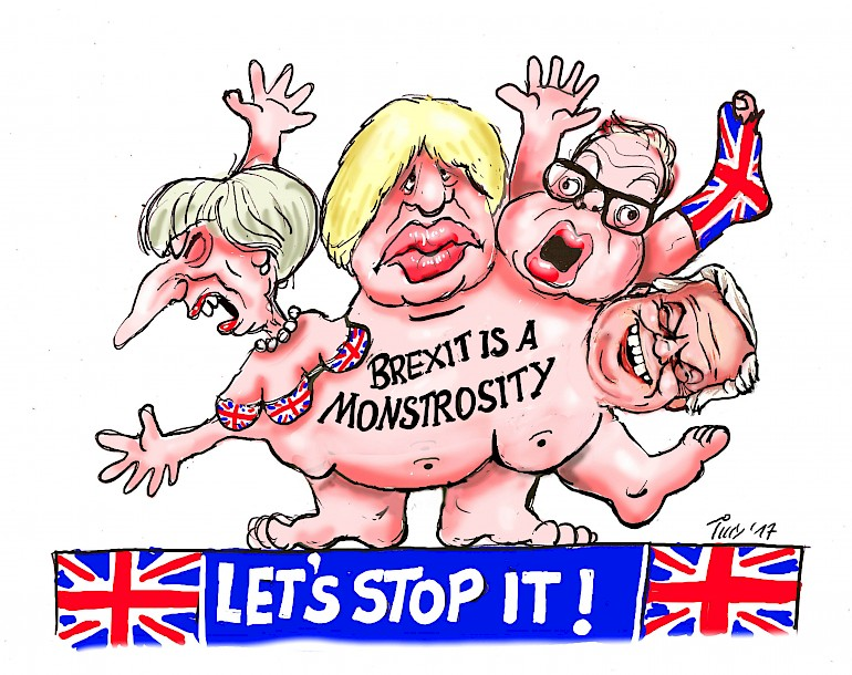 Brexit Monstrosity Float Draft