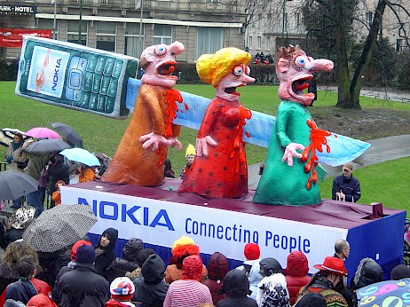 Nokia Connecting People, 2008